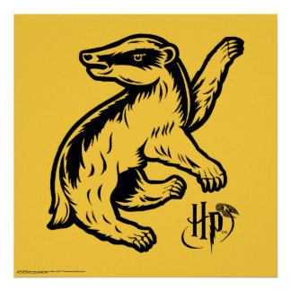 Harry Potter | Hufflepuff Badger Icon Poster