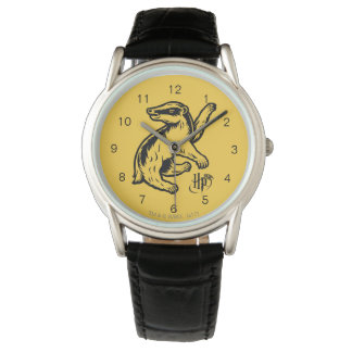 Harry Potter | Hufflepuff Badger Icon Wristwatches