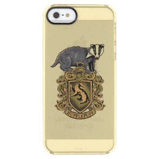 Harry Potter | Hufflepuff Crest with Badger Clear iPhone SE/5/5s Case