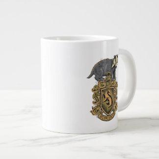 Harry Potter | Hufflepuff Crest with Badger Large Coffee Mug