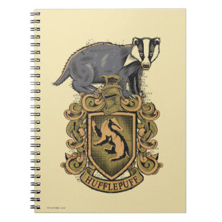Harry Potter | Hufflepuff Crest with Badger Note Book