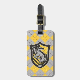 Harry Potter | Hufflepuff House Pride Crest Bag Tag