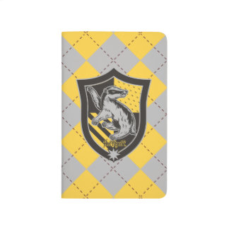 Harry Potter | Hufflepuff House Pride Crest Journal