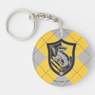 Harry Potter | Hufflepuff House Pride Crest Key Ring