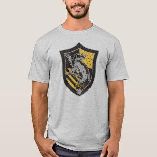 04e04e40 Harry Potter   Hufflepuff House Pride Crest T-Shirt