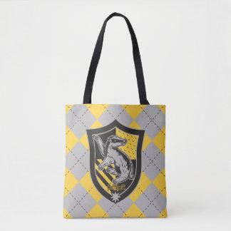 Harry Potter   Hufflepuff House Pride Crest Tote Bag