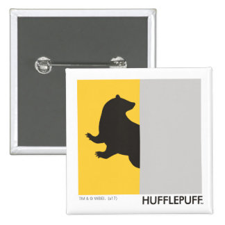 Harry Potter | Hufflepuff House Pride Graphic 15 Cm Square Badge