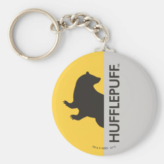 Harry Potter | Hufflepuff House Pride Graphic Key Ring