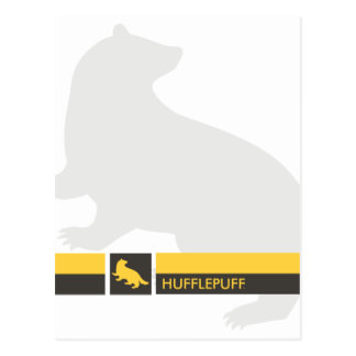 Harry Potter   Hufflepuff House Pride Graphic Postcard