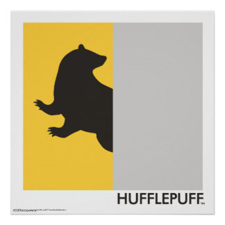 Harry Potter | Hufflepuff House Pride Graphic Poster