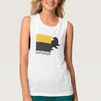 Harry Potter | Hufflepuff House Pride Graphic Singlet