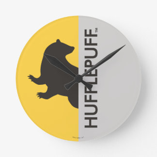Harry Potter | Hufflepuff House Pride Graphic Wallclocks