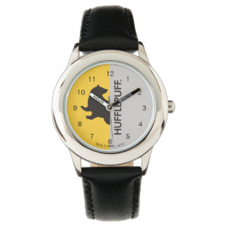 Harry Potter | Hufflepuff House Pride Graphic Wristwatches