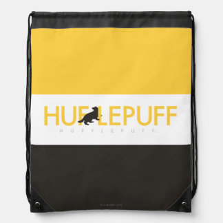 Harry Potter | Hufflepuff House Pride Logo Drawstring Bag