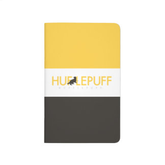 Harry Potter | Hufflepuff House Pride Logo Journal