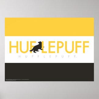 Harry Potter | Hufflepuff House Pride Logo Poster