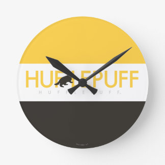 Harry Potter | Hufflepuff House Pride Logo Wall Clocks