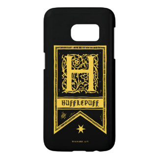 Harry Potter | Hufflepuff Monogram Banner