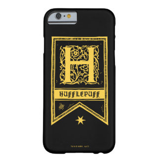 Harry Potter | Hufflepuff Monogram Banner Barely There iPhone 6 Case