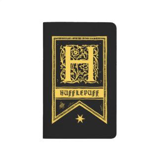Harry Potter | Hufflepuff Monogram Banner Journal