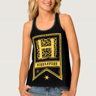 Harry Potter | Hufflepuff Monogram Banner Tank Top