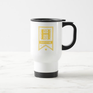 Harry Potter | Hufflepuff Monogram Banner Travel Mug