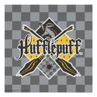 Harry Potter | Hufflepuff Quidditch Crest Poster