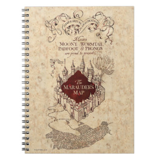 Harry Potter | Marauder's Map Note Books