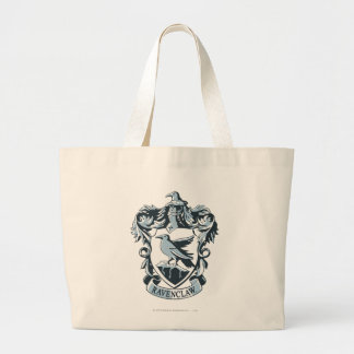 Harry Potter | Modern Ravenclaw Crest Large Tote Bag