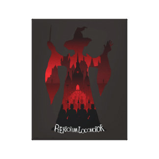 Harry Potter   Professor McGonagall's Statue Army Canvas Print