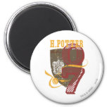 Harry Potter Quidditch 6 Cm Round Magnet