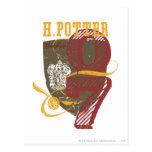 Harry Potter Quidditch Postcard