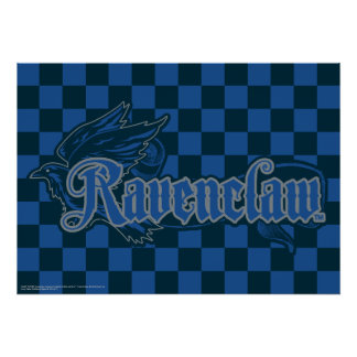 Harry Potter | Ravenclaw Eagle Graphic Poster