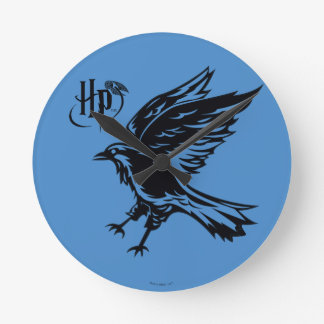 Harry Potter | Ravenclaw Eagle Icon Round Clock