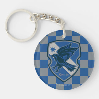 Harry Potter | Ravenclaw House Pride Crest Double-Sided Round Acrylic Key Ring