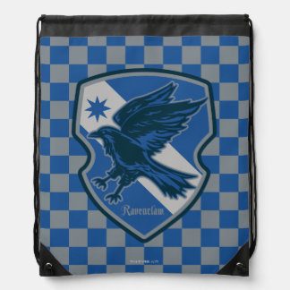 Harry Potter | Ravenclaw House Pride Crest Drawstring Bag