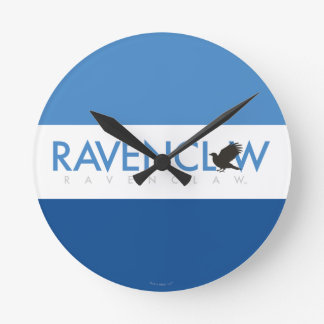 Harry Potter | Ravenclaw House Pride Logo Round Clock