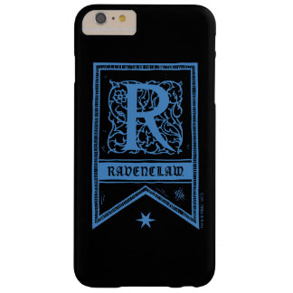 Harry Potter | Ravenclaw Monogram Banner Barely There iPhone 6 Plus Case