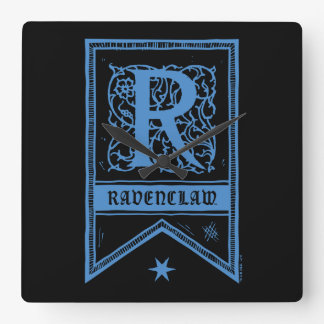 Harry Potter | Ravenclaw Monogram Banner Clocks