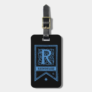 Harry Potter | Ravenclaw Monogram Banner Luggage Tag