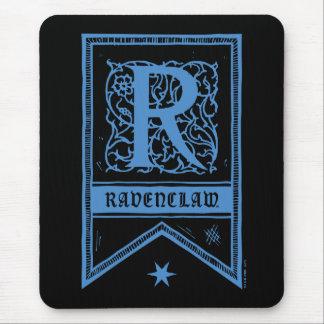 Harry Potter | Ravenclaw Monogram Banner Mouse Pad