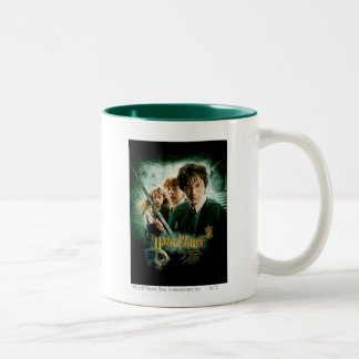 Harry Potter Ron Hermione Dobby Group Shot Two-Tone Mug