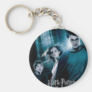 Harry Potter Ron Hermione In Forest Keychain