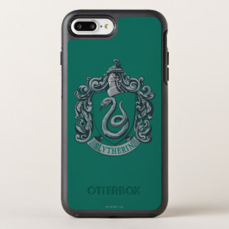 Harry Potter | Slytherin Crest Green OtterBox Symmetry iPhone 7 Plus Case