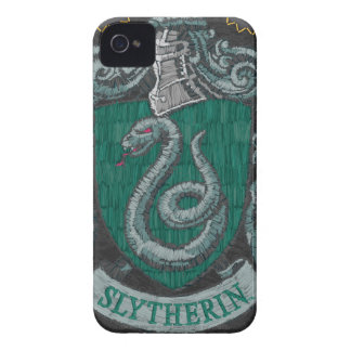 Harry Potter | Slytherin Crest - Vintage iPhone 4 Case-Mate Case