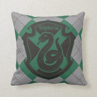 Harry Potter | Slytherin House Pride Crest Cushion