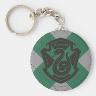 Harry Potter | Slytherin House Pride Crest Key Ring