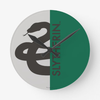 Harry Potter | Slytherin House Pride Graphic Clocks