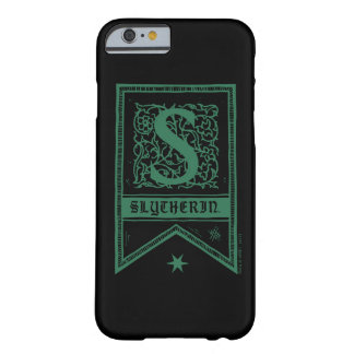 Harry Potter | Slytherin Monogram Banner Barely There iPhone 6 Case