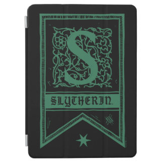 Harry Potter | Slytherin Monogram Banner iPad Air Cover